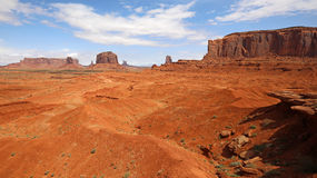 View at Monument Valley from John Ford Point Stock Photos