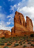 View of Monument Valley, USA royalty free stock photos