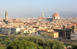 View at monumental Florence, Italy Stock Image