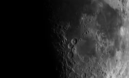 View of the Moon. Stock Photography