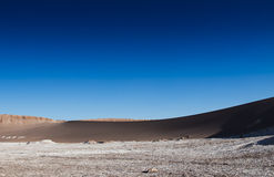 View of the Moon Valley. & x28;Valle de la Luna& x29; in Chile Stock Photography