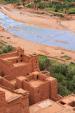View from a moroccan casbah Stock Photography