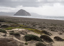 View of Morro Rock Stock Photos