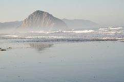 Morro Rock Royalty Free Stock Photography