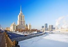 View Moscow Royalty Free Stock Image