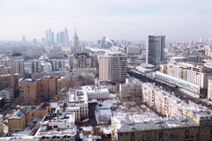 View of Moscow Royalty Free Stock Photography