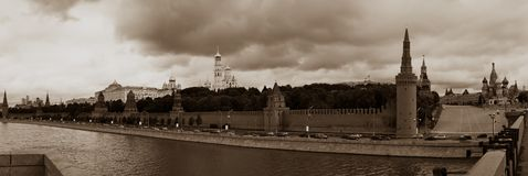 A view of Moscow Royalty Free Stock Photo