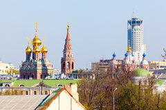 View of Moscow Royalty Free Stock Photos