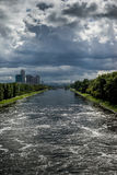View of the Moscow Canal Royalty Free Stock Photography