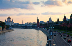 View of Moscow Royalty Free Stock Image