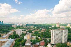 View of moscow city. View of the moscow city Stock Images