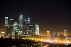 View of the Moscow city Royalty Free Stock Images