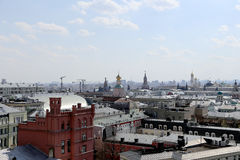 View of the Moscow from a high point, Russia Stock Photo