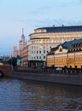 View of Moscow historic district Stock Photos