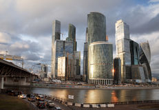 View of the Moscow International Business Center Stock Images