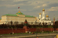 View of the Moscow Kremlin Royalty Free Stock Photos