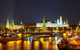 View of Moscow, Kremlin Royalty Free Stock Images