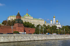 View of the Moscow Kremlin,Russia Royalty Free Stock Photography