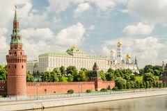 View of Moscow Kremlin. Russia Royalty Free Stock Photos