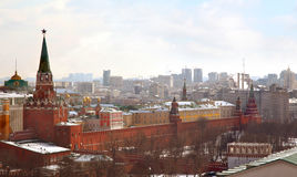 View on Moscow Kremlin, Russia Stock Photography
