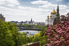 View of Moscow from the Kremlin, Russia Stock Images