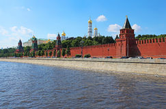 View of the Moscow Kremlin, Russia Royalty Free Stock Image