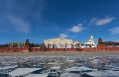 View of the Moscow Kremlin Royalty Free Stock Photo
