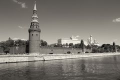 View of Moscow Kremlin Royalty Free Stock Photo