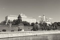 View of Moscow Kremlin Stock Images