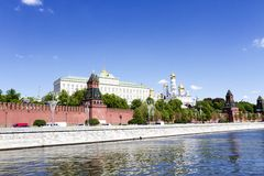View of Moscow Kremlin Royalty Free Stock Images