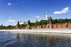 View of Moscow Kremlin Stock Photography