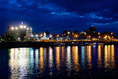 View of the Moscow River Royalty Free Stock Images