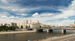 View of Moscow Royalty Free Stock Images