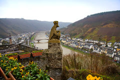 View of Mosel river Royalty Free Stock Photos