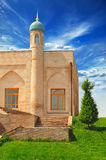 View of a mosque. View of a  Khazrat-Imom complex  in Tashkent (Uzbekistan Royalty Free Stock Photography