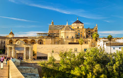 View of the Mosque-Cathedral in Cordoba, Spain Royalty Free Stock Photo