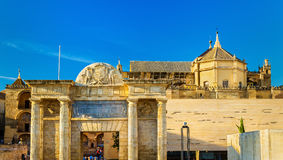 View of the Mosque-Cathedral in Cordoba, Spain Stock Photography