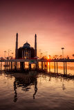 View of a mosque in Indonesia Stock Photo