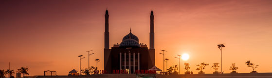 View of a mosque in Indonesia Stock Photography