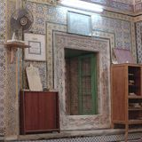 View of a mosque interior. Tripoli, Lybia - May 02, 2002: Mosque interior in Tripoli Royalty Free Stock Image