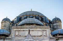 View on mosque in Istanbul Stock Photography