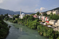 View of Mostar Stock Photo
