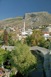 Mostar in bosnia herzegovina Stock Photography