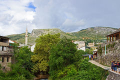 View of Mostar Royalty Free Stock Photos