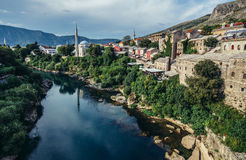 View in Mostar Stock Image