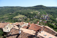 View from Motovun royalty free stock images