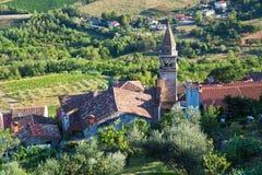 View of Motovun, Croatia Stock Photography
