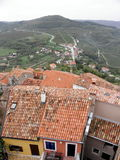 The view from Motovun, Istria, Croatia Royalty Free Stock Photos