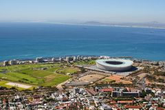 View of Mouille Point Royalty Free Stock Images