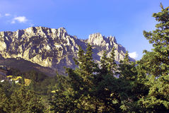 View of Mount Ai-Petri. Crimea Royalty Free Stock Photography